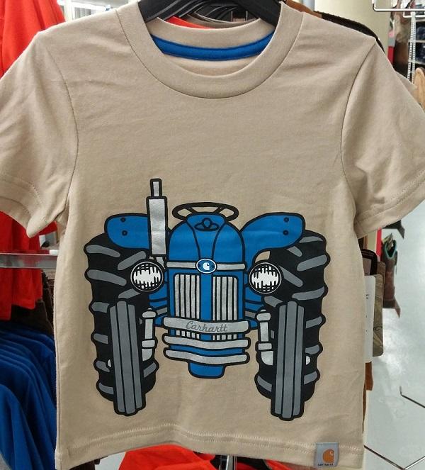 Boys Carhartt Tractor Shirt