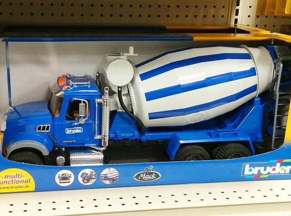Bruder Toy Cement Truck