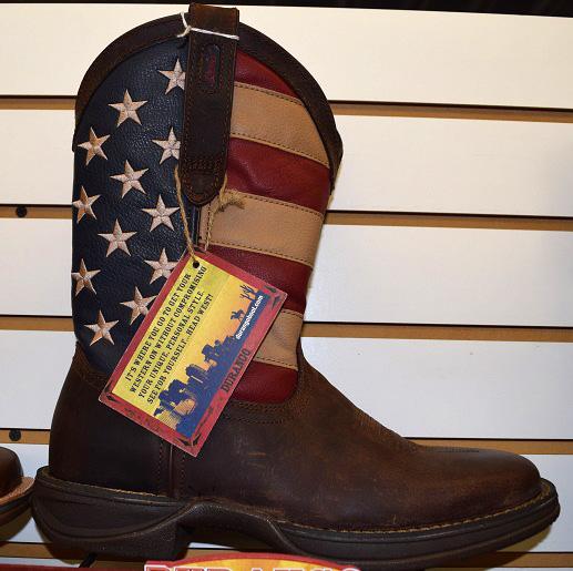 Girls Durango Stars and Stripes Boots.JPG