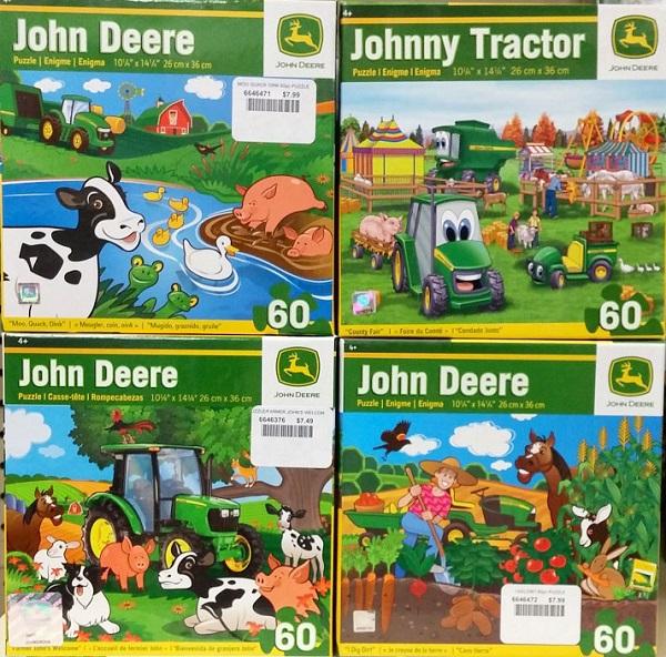 John Deere 60 Piece Puzzles