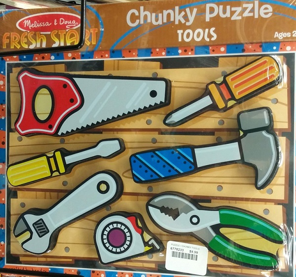Melissa and Doug Tool Puzzle