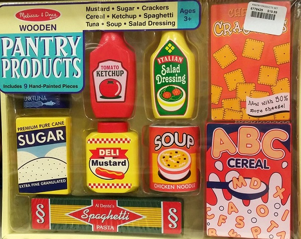 Melissa and Doug Wooden Pantry Products